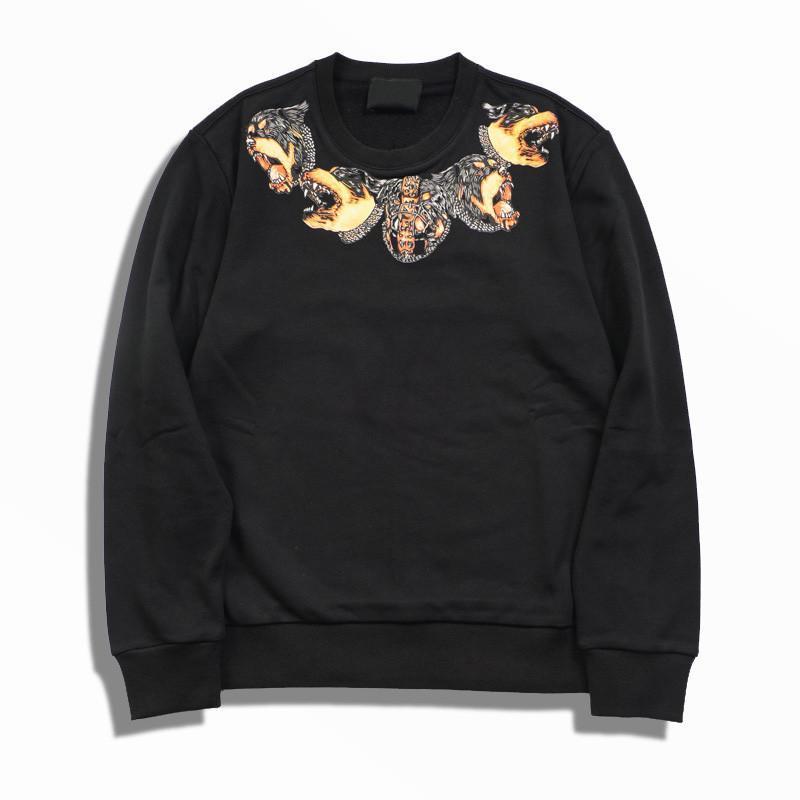 19FW de Hoodie Sweat FashionTrend Impression de haute qualité Hommes Femmes Sweats à capuche unisexe styliste Casual Chemises à manches longues