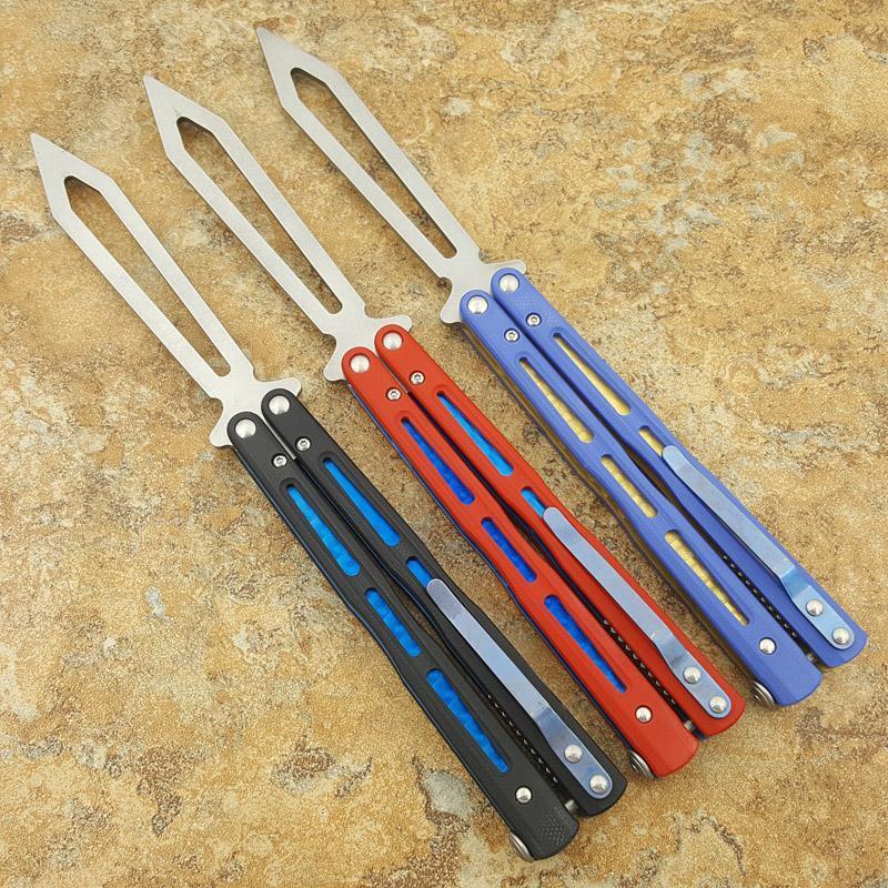 فراشة flytanium bm51 v4 d2 بليد g10 المدرب لا حاد سكين مجموعة jilt للطي هدية عيد الميلاد سكين