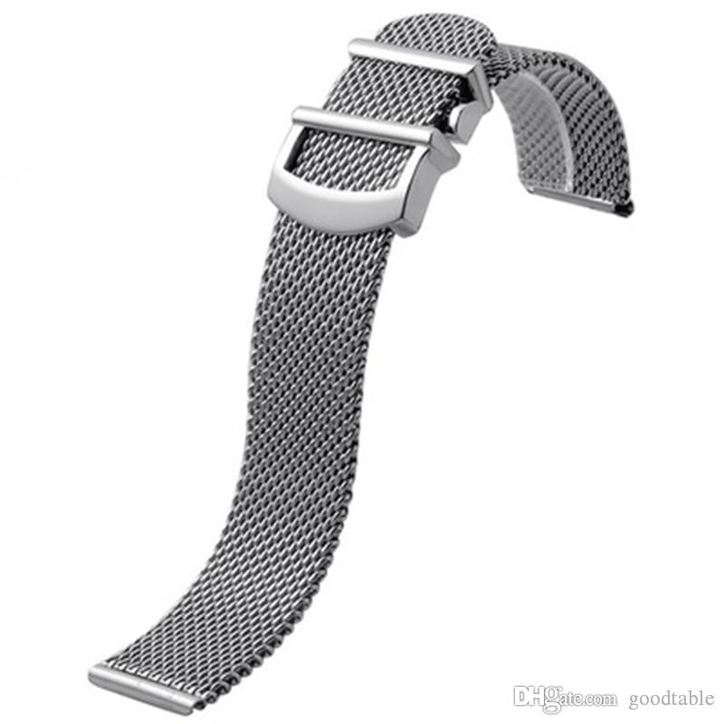 Guarda cinturino in maglia per IWC Portofino cinturino in acciaio inossidabile Milanese cinturino 20 22MM