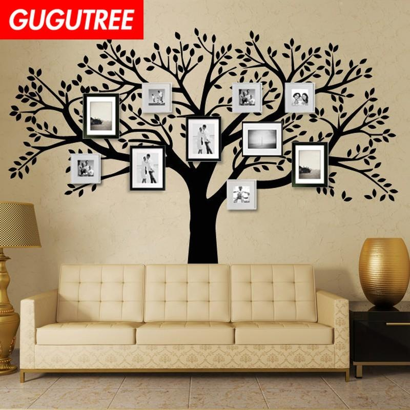 Decorate Home photo trees art wall sticker decoration Decals mural painting Removable Decor Wallpaper G-1559