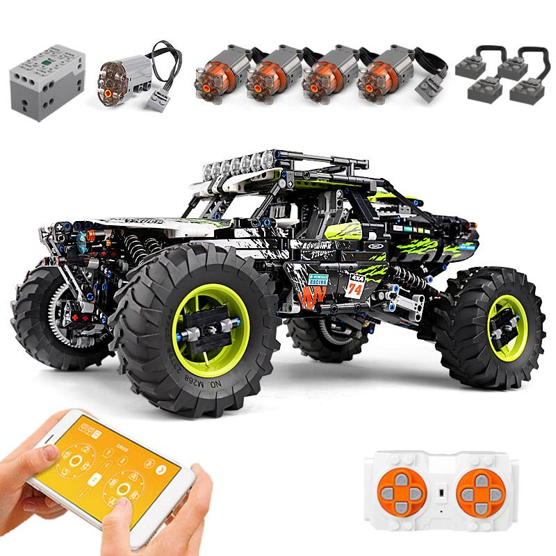 Mould King Buggy Remote Control Terrain Off-Road Climbing Truck Building Blocks
