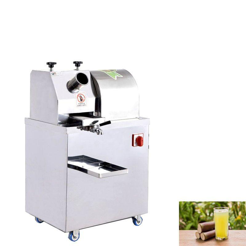Escritorio de control automático exprimidor caña de azúcar energía de la batería se vende / enchufe de la máquina eléctrica pequeña jugo de caña