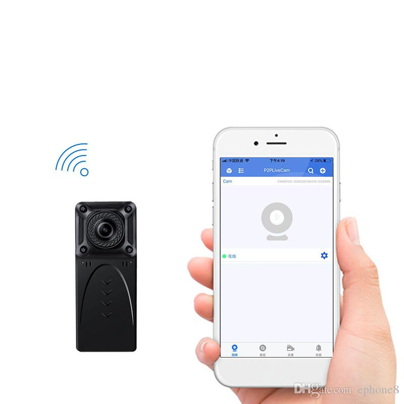 Wireless WiFi IR cameras recording sound 1080P HD mobile phone remote intelligent security night vision monitor for goophone 11 pro max
