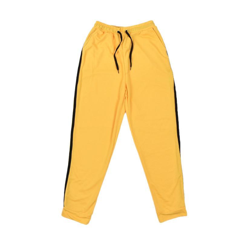 Toptan-Kadınlar Spor Suit Kapüşonlular + Pantolon Sonbahar Tracksuits Kazak Bayan Çizgili Kazak Gym Fitness Koşu 2 adet Set Running