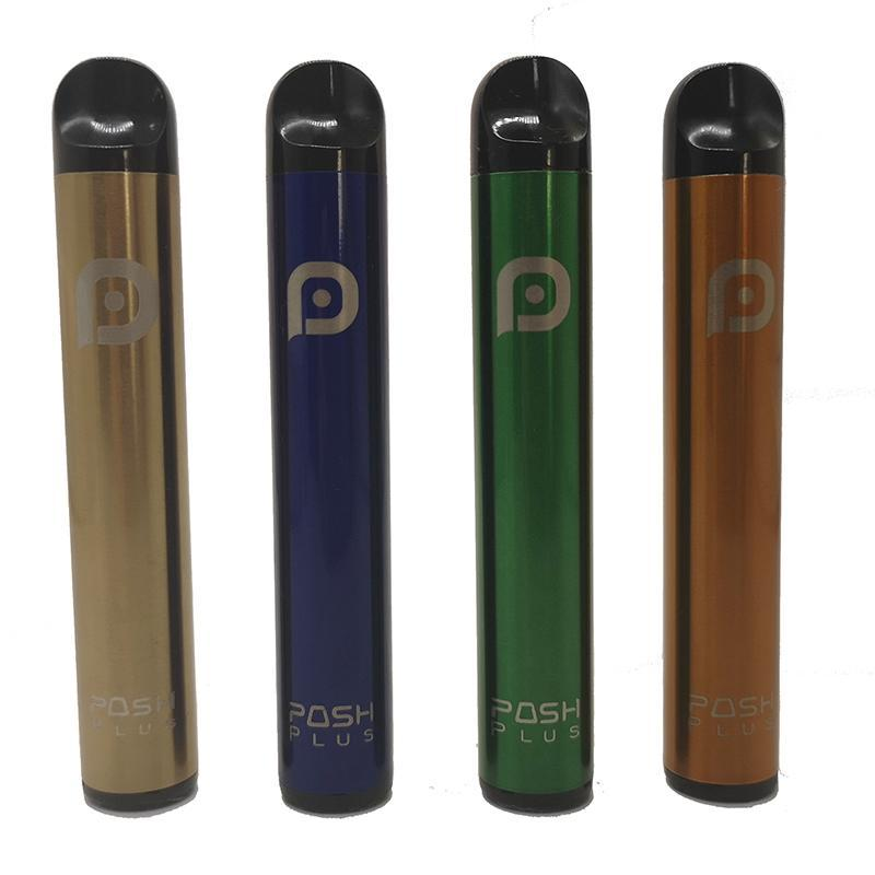 El más reciente Posh Plus desechables pluma Starter Kit 280mAh batería con 2,0 ml Cartucho de Vape Pen dispositivo desechable Vape Pods Kits
