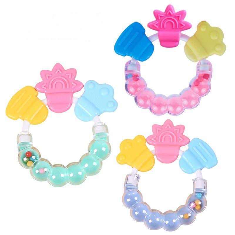 Погремушки детские прорезывания зубов кольцо детские кусачие игрушки малыш милые игрушки Детские прорезыватель подарки для мальчиков девочек 1 шт.