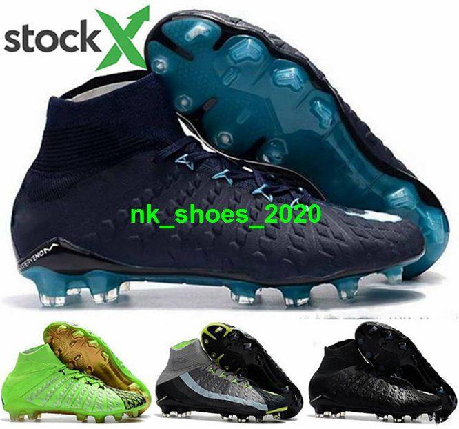 III tênis chuteiras Fantasma sapatos tamanho nos 12 Homens futebol FG AG Mens Hypervenom 3 eur 46 botas mulheres bola de futebol rosa meninos jovens de ouro crianças