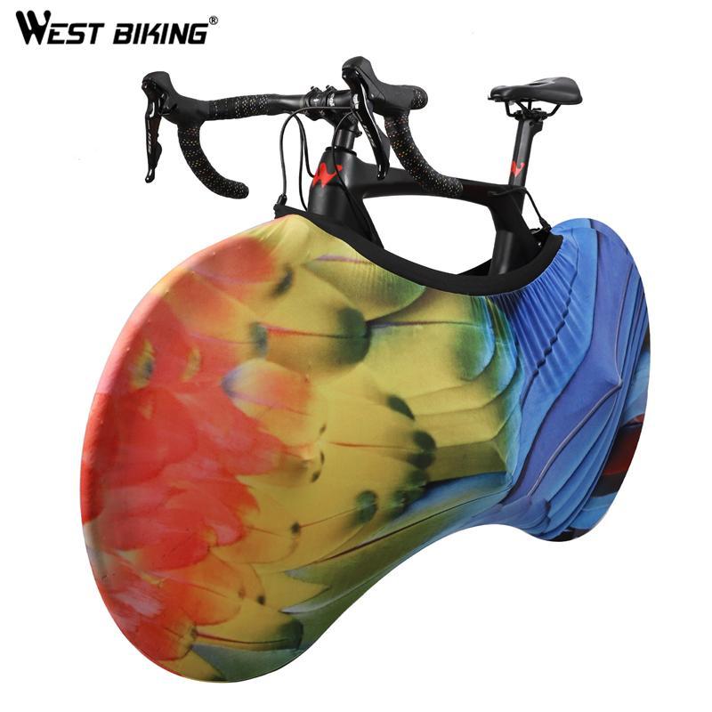 الدراجة حامي MTB الطريق دراجة غطاء مكافحة الغبار العجلات غطاء إطار مقاومة للخدش حقيبة التخزين 24-700C أو 29 بوصة الدراجة اكسسوارات