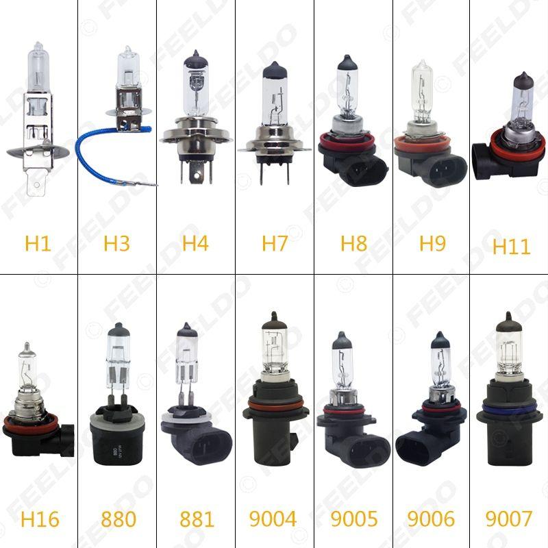 2pcs carro H1 / H3 / H4 / H7 / H8 / H9 / H11 / H16 / 880/881/9005/9006 55W / 100W 80W Branco Faróis Nevoeiro Bulb # 2861