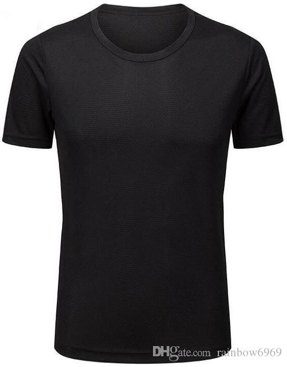 2019 мужские облегающие оранжевые одежды фитнес работает с короткими рукавами спортивной растяжку быстрой сушки одежды футболку
