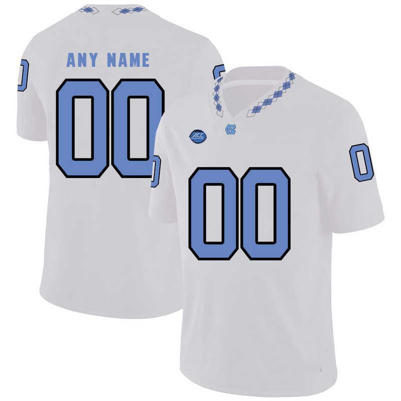 Art Weiner North Carolina Tar Heels Jordan Football Jersey - White