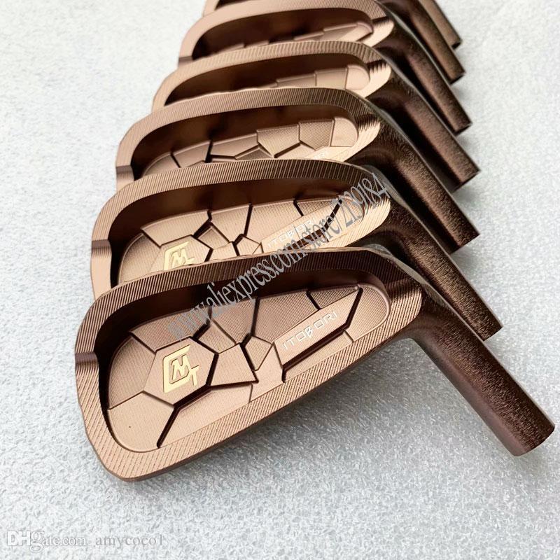 cabeza palos de golf nuevos hierros de golf MTG itobori 4-9 P hierros forjados cabeza Conjunto Sin eje de envío de plata clubes cabeza gratuito