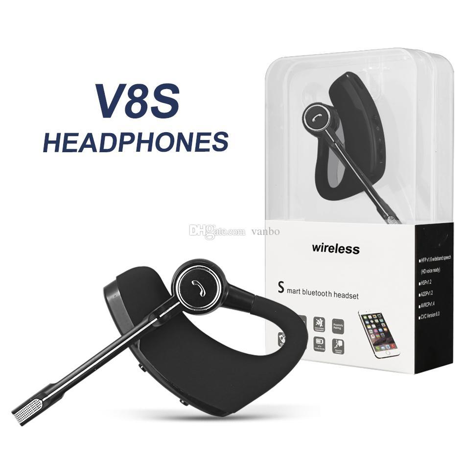 d9094954f0bf27 V8 V8S Bluetooth Headphones Wireless Headset Handsfree Bluetooth Earphones  V4.1 Legend Stereo Wireless Earbuds