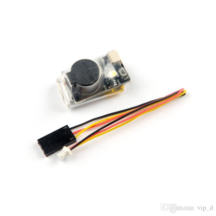Happymodel DT-B90 90dBi Finder Buzzer Alarm 4.5-9V Input Built-in Battery with LED Light for RC Drone Multicopter Spare DIY Part by DHL