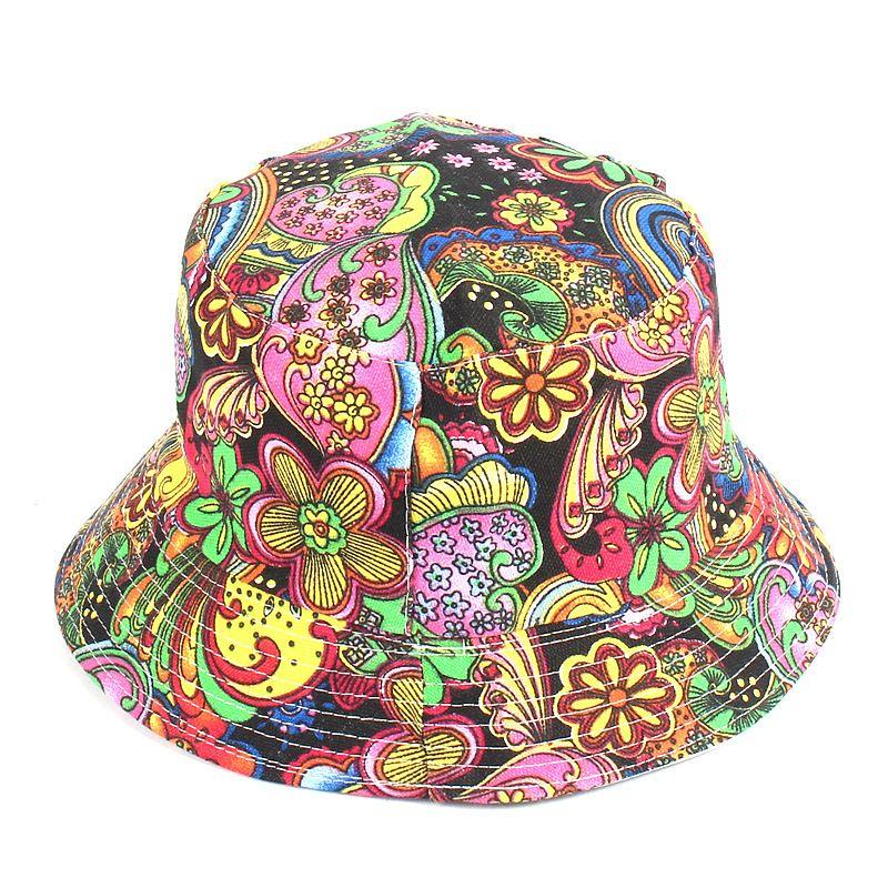 가역 버킷 모자 여성 여름면이 넓은 플로피 파나마 모자 패션 선물 정원 골프 비치 캡 꽃 버킷 모자를 넘치
