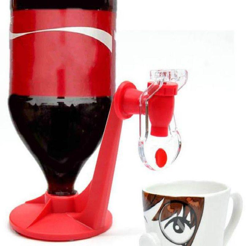 Bas Boisson Upside Gadgets Cuisine Distributeur d'eau Bar Dispense potable Le robinet de la bouteille magique Saver Soda Coke Party Machines
