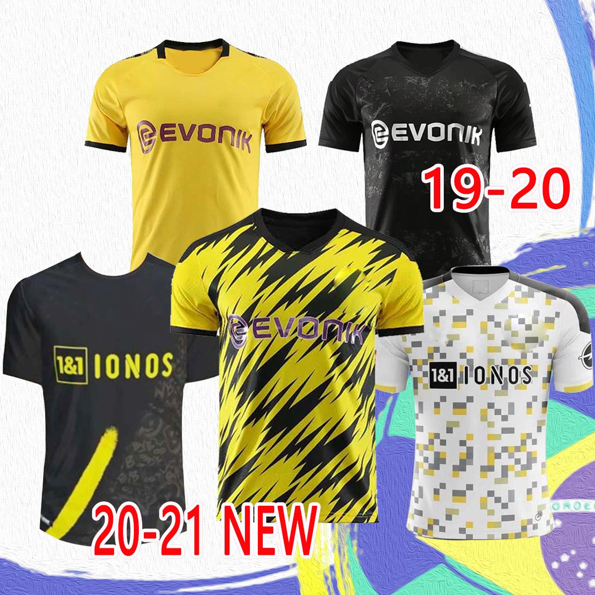 NEW 2020 2021 The latest Thai version of adult football uniform, 19/20/21 football jersey retro sportswear