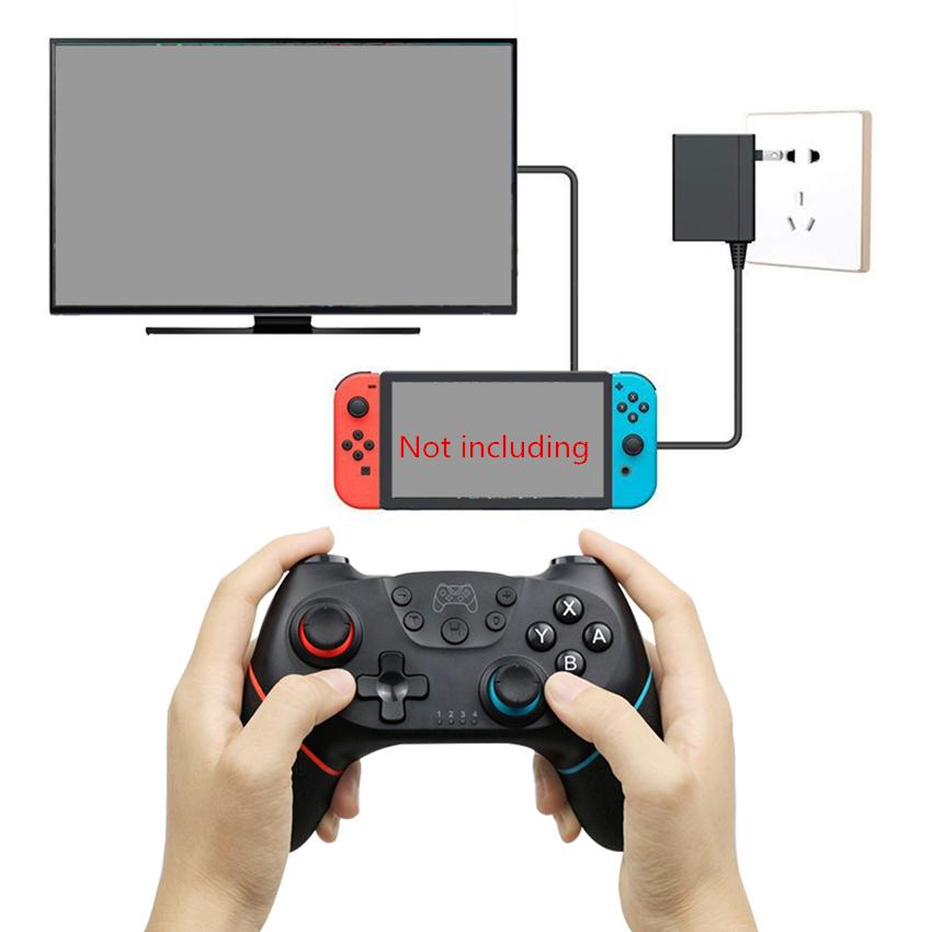 Wireless Controller for Nintend Switch NS-Switch Pro Game Console Gamepads Bluetooth Gamepad Gaming Joystick Controllers with 6-Axis Handle
