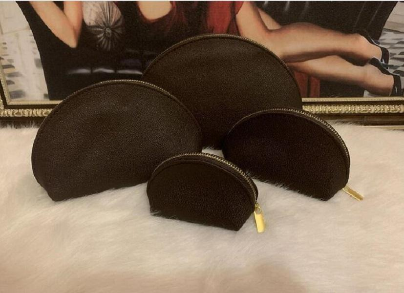 4 pcs set Women cosmetic bags famous makeup bag designer travel pouch make up bag ladies purses toiletry bag