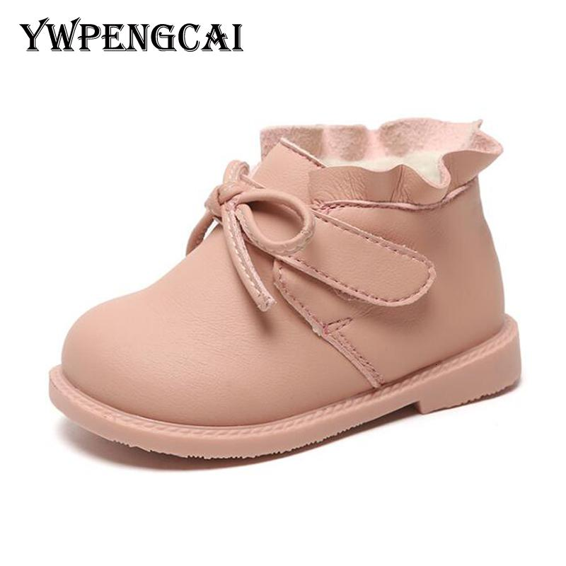 0 3 Years Baby Girl Boots Non Slip Soft