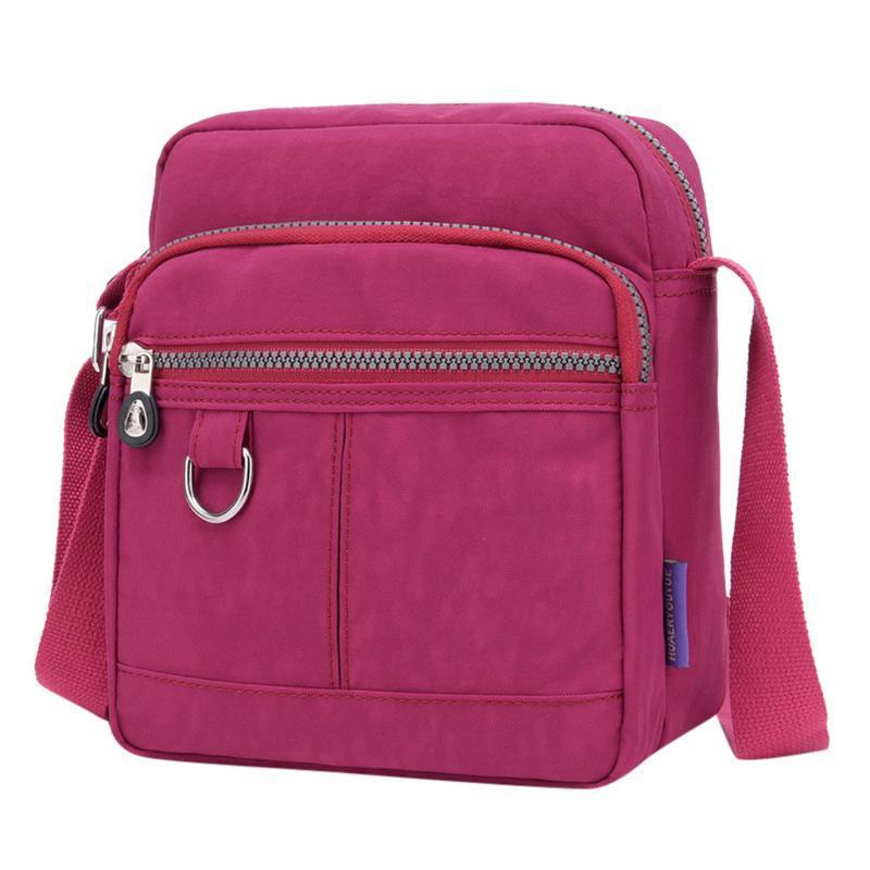 Mulheres Moda Waterproof Único ombro Travel Bag Mensageiro Bandoleira Sacos