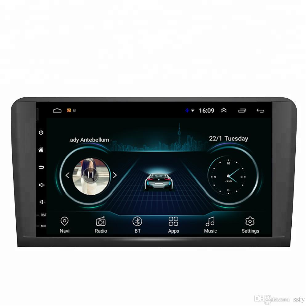 Android car radio GPS for Mercedes Benz ML class series ML350 ML300 ML4500 W164 2005-2013 GL350 GL400 GL450 2005-2013 9inch
