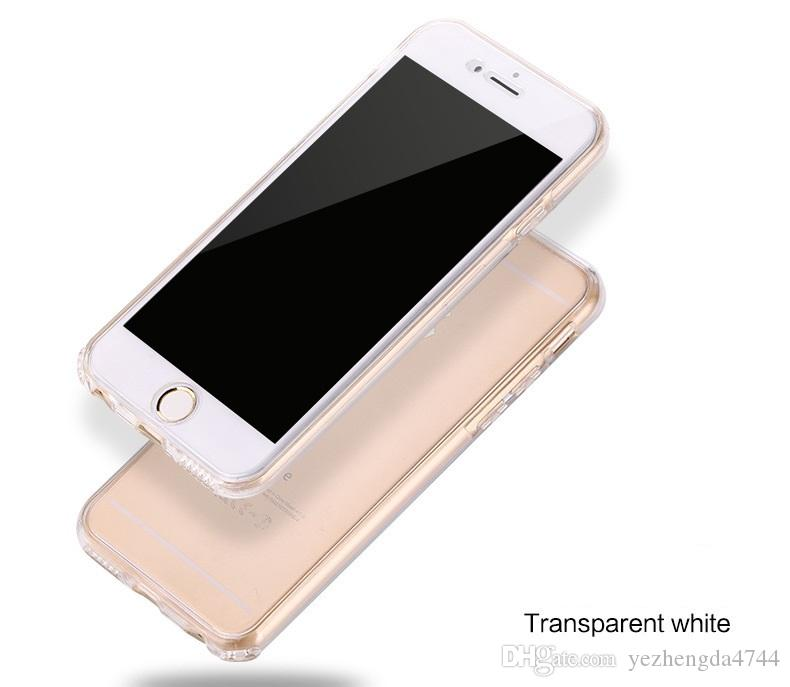 Full Cover Cases Soft TPU Flip Case High Quality For Apple iPhone 7 4.7 Inch Slim Fit Phone Protctive