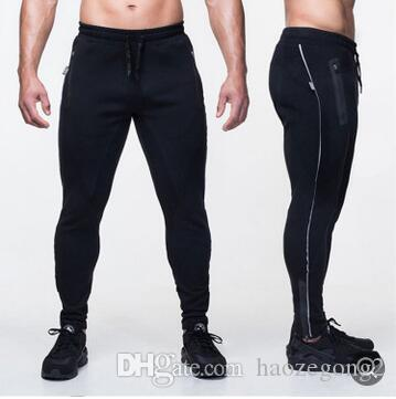 2019 Men Pants Male Trousers Mens Sweatpants Fashion Men Compression Pants Fitness Workout Skinny Sportswear Male Casual Leggings Trousers