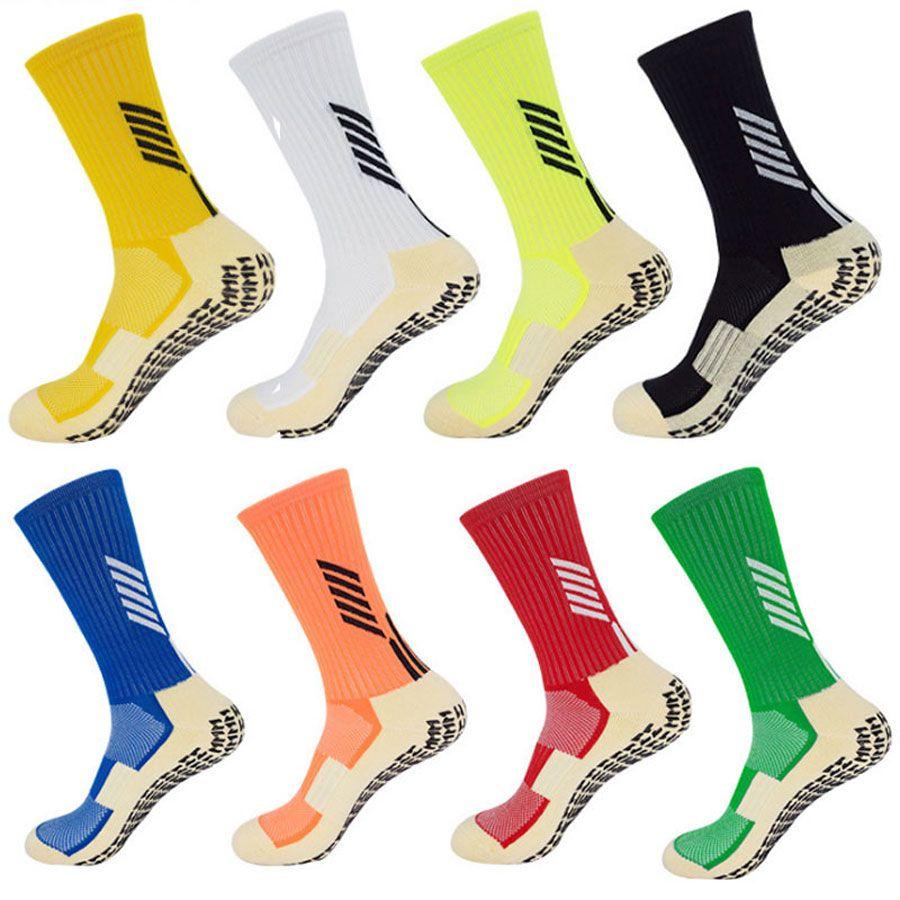 Calcio calzini Anti Slip Calcio calzini da uomo simile come il Trusox calzini per basket in esecuzione in bicicletta Palestra Jogging