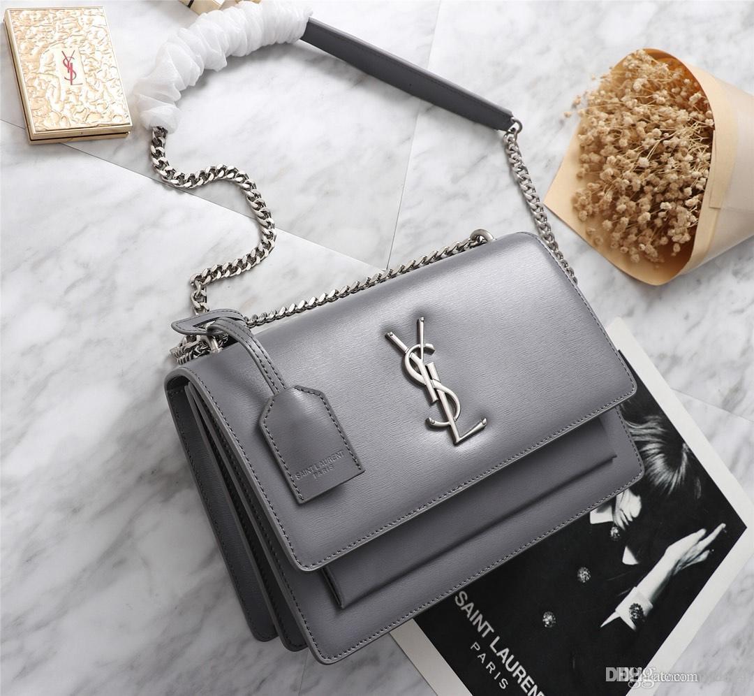 여성 디자이너 작은 핸드백 체인 어깨 메신저 가방 미니 지갑 손 가방 YECQ4에 대한 19FW 품질 패턴 가죽 크로스 바디 백
