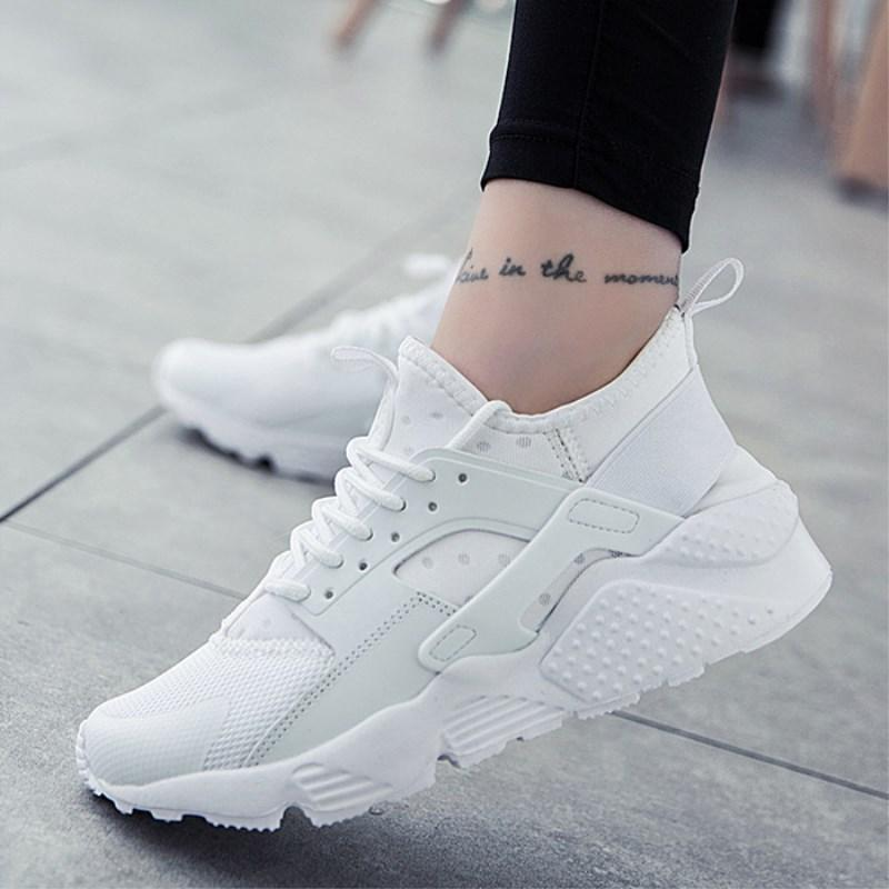Moda scarpe traspiranti 2019 Scarpe Donna casuale zapatillas comodi mujer Femminile piattaforma scarpe da tennis delle donne Chaussure Femme