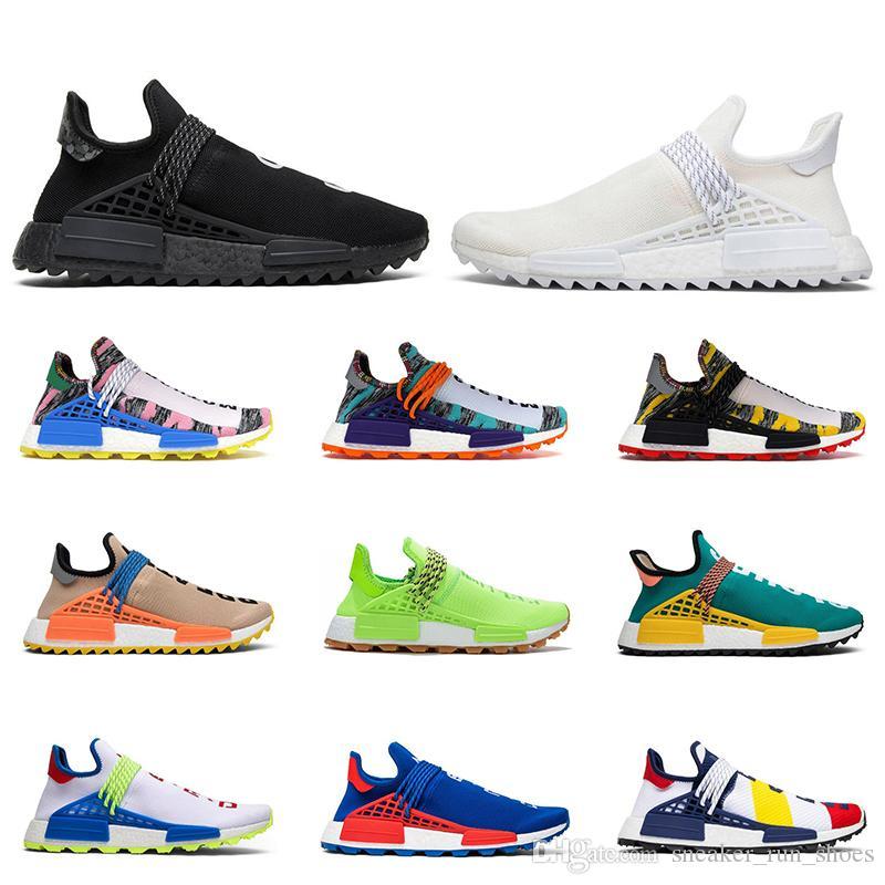 Adidas Shoes أحذية مولودية التعادل صبغ الشمسية حزمة الأم أزياء الرياضة والمرأة RACE رخيصة NMD الإنسان فاريل وليامز للرجال في