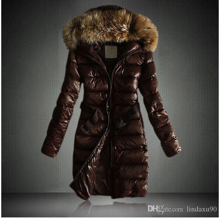 Acheter 2020 Classique Casual Marque Femmes Hiver Femmes Col De Fourrure Long Doudounes Dames Manteaux Chauds Coupe Vent Homme Parka De $71.26 Du