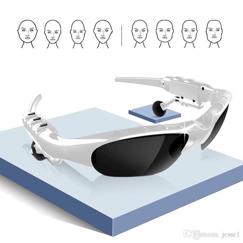 Óculos de sol de moda Óculos inteligentes x8s fones de ouvido Bluetooth 5.0 fone de ouvido fone de ouvido com microfone para condução / bicicleta de venda quente