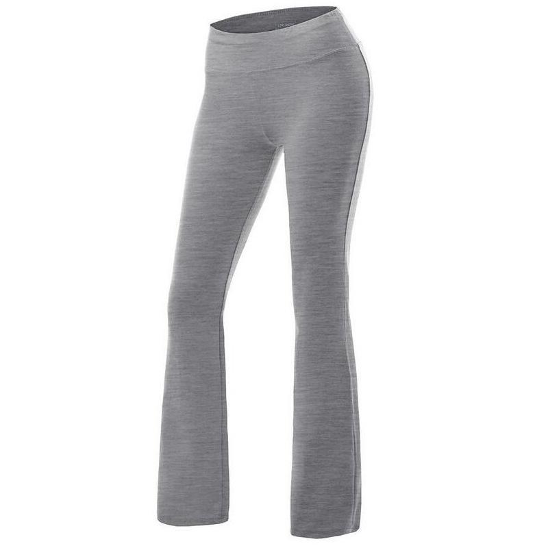 Casual Retro Kadınlar Düz Katı Yüksek Bel Flare Geniş Bacak Spor Yoga Pantolon Ince Uzun Gevşek OL Pantolon Çalışmak Artı Boyutu