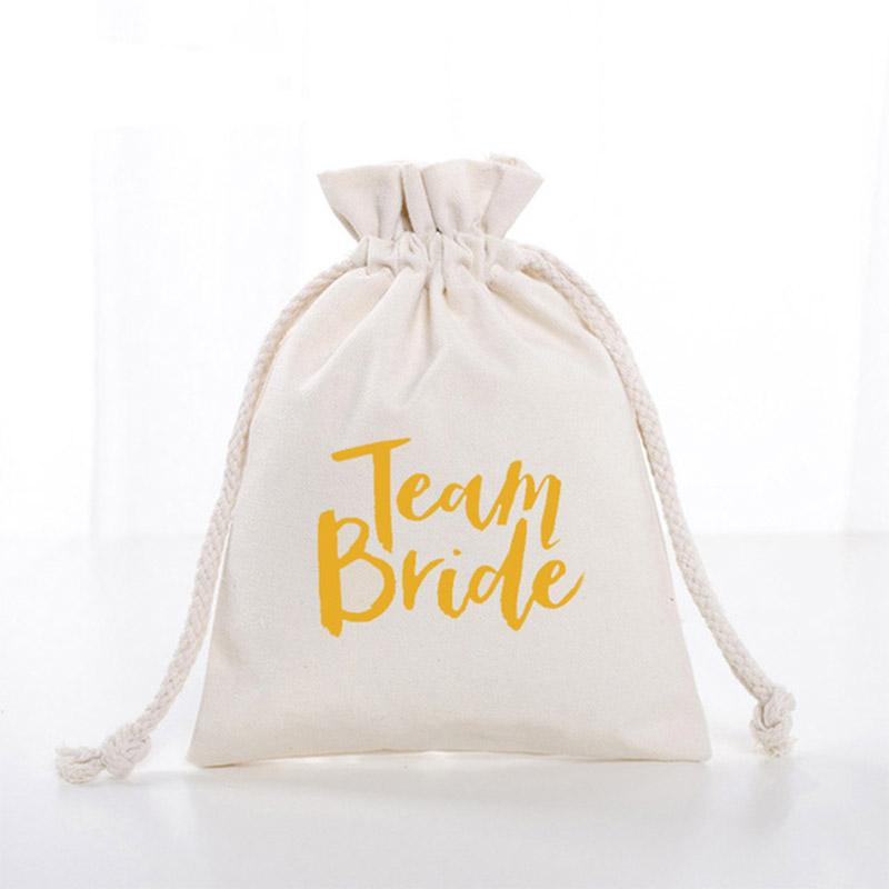 Gallina Team Bride Gift Bag Gallina Borse Sposa regalo damigella d'onore Team Party doccia Bachelorette nuziale Party Bag