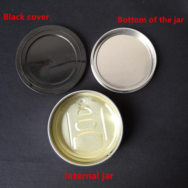 Boite en métal pour tabac, 3,5 g, étiquette en calotte Pop-Top Cali, avec étiquette personnalisée à extrémité ouverte et couvercle en ChildProof