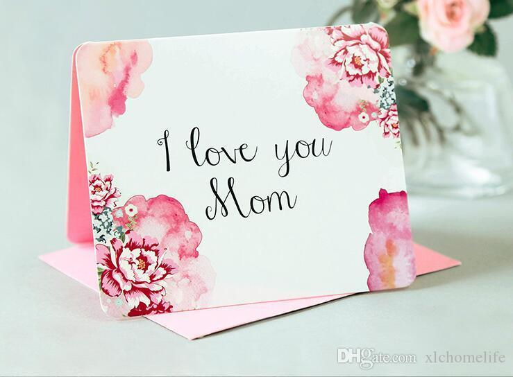 Peachy Creative Mothers Day Card Exquisite Greeting Card Can Be Printed Funny Birthday Cards Online Fluifree Goldxyz
