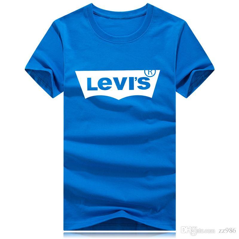 Männer T-Shirts Mode Jeans Marke drucken lustige T-Shirt Männer Sommer lässig männlich T-Shirt Hipster Hip-Hop T-Shirt Männer Top
