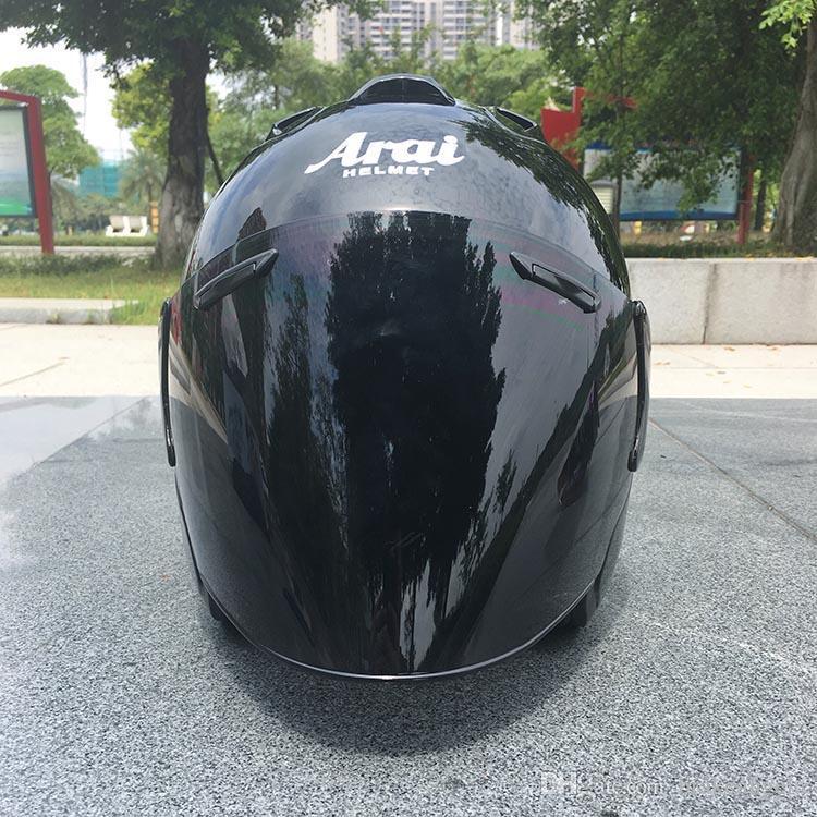 2018 Top quente ARAI capacete capacete da motocicleta metade casque cara aberta capacete capacete motocross SIZE: M L XL XXL