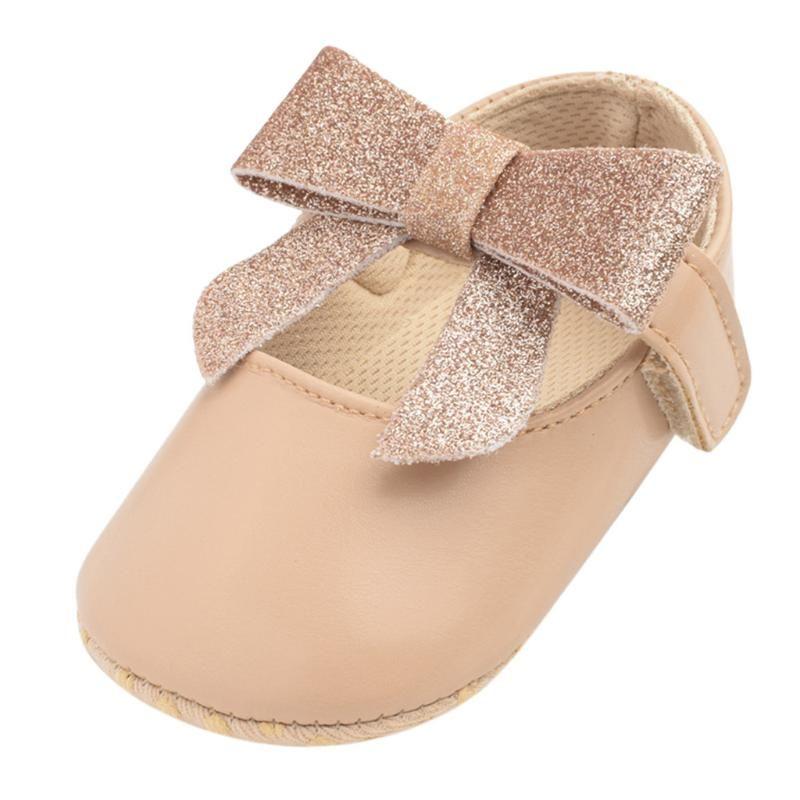 أول مشوا أحذية الطفل القوس الرضع ولد الفتيات الفتيان الكرتون الوردي لطيف لطيف بلون فتاة chaussure