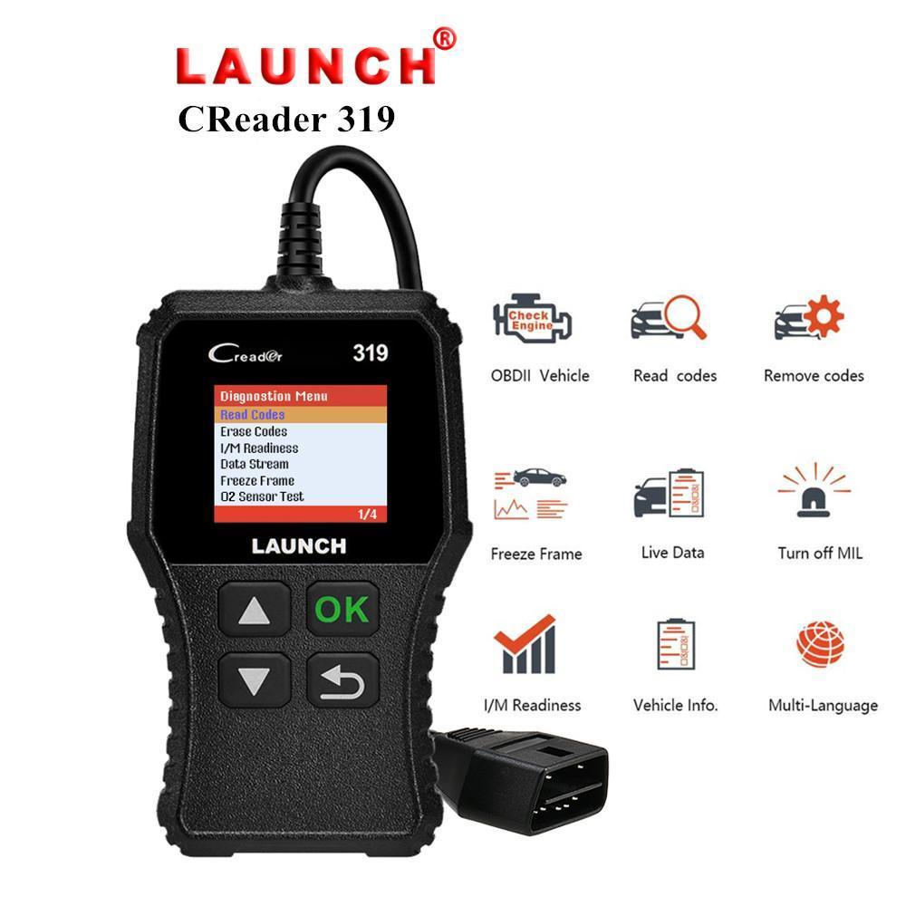 Lancio X431 Creader 319 CR3001 completa OBD2 OBDII lettore di codici a scansione Tools OBD strumento 2 CR319 auto diagnostico PK AD310 ELM327 Scanner