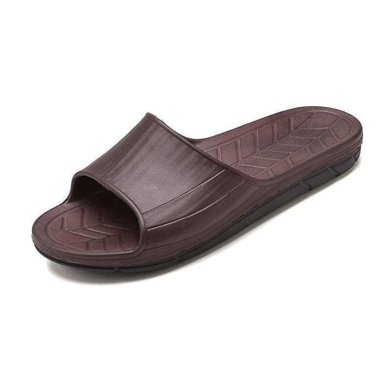 2020 Nova Sandálias azuis listras brancas Sandals Denim Plano Slipprs Shoes Ladies Verão ao ar livre praia causal dos falhanços de aleta de couro genuíno Sole 9083