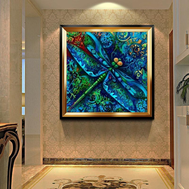 KADISCHE 5d Diamond Painting Full Drill Dragonfly New Arrival Diamond Embroidery Insect Decorations For Home