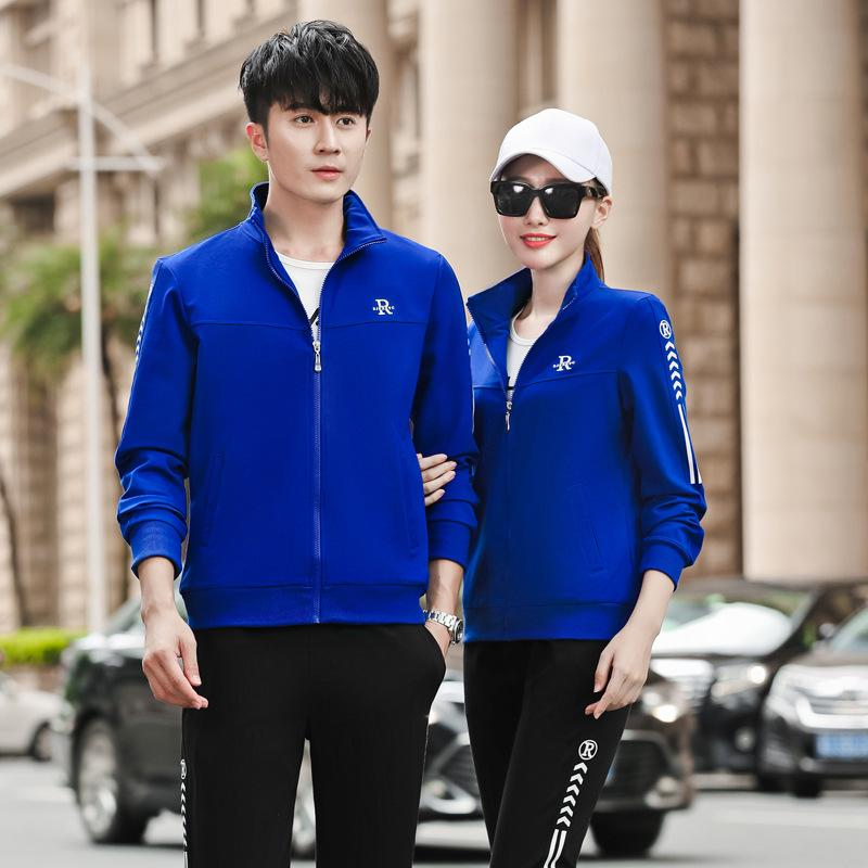 Tail Single Export Big Name Cut Label Discount Mens Three-Piece Couples Sportswear Large Size Casual Suit Female outside