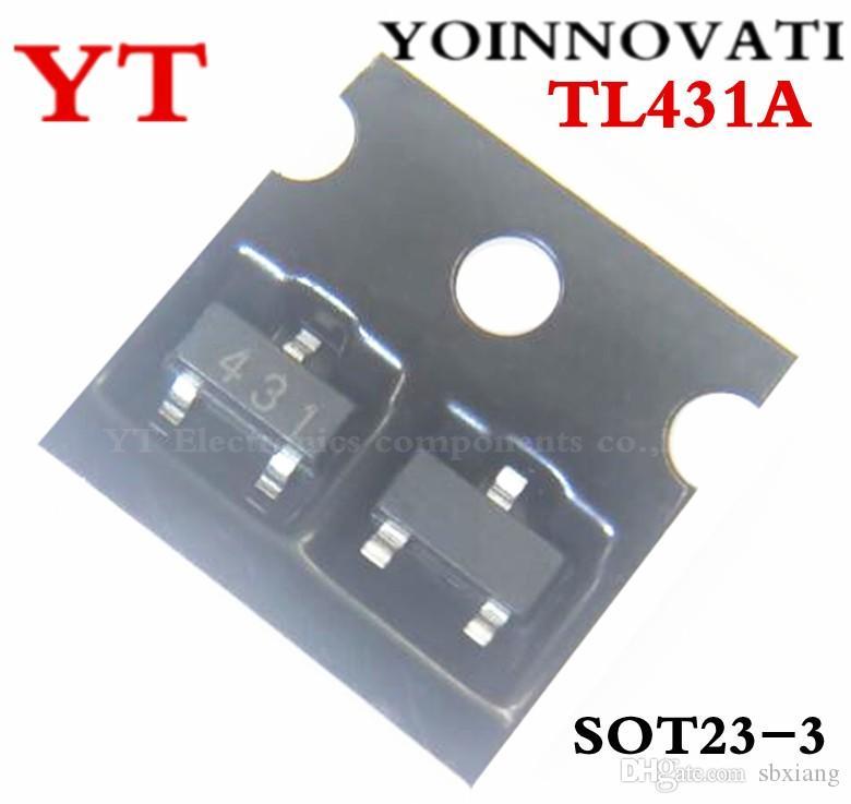 Livraison gratuite 3000 PCS TL431A TL431 CJ431 IC SOT23-3
