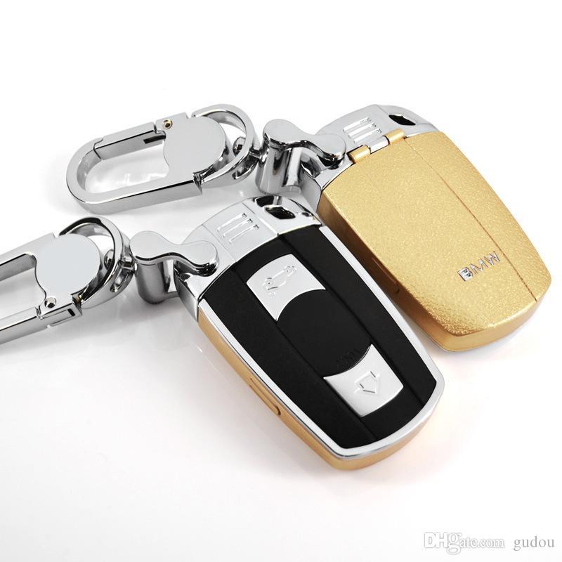 Chave do carro de luxo da tampa do caso para o BMW Auto 3 Series X1 / 325/320/323 bainha protetora durável velho com keychain