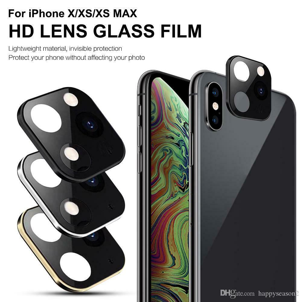 Kamera-Objektiv-Schutz für iPhone XS Max X Wechsel zum iPhone 11 Pro Max Glasabdeckung Shell Kleinpaket