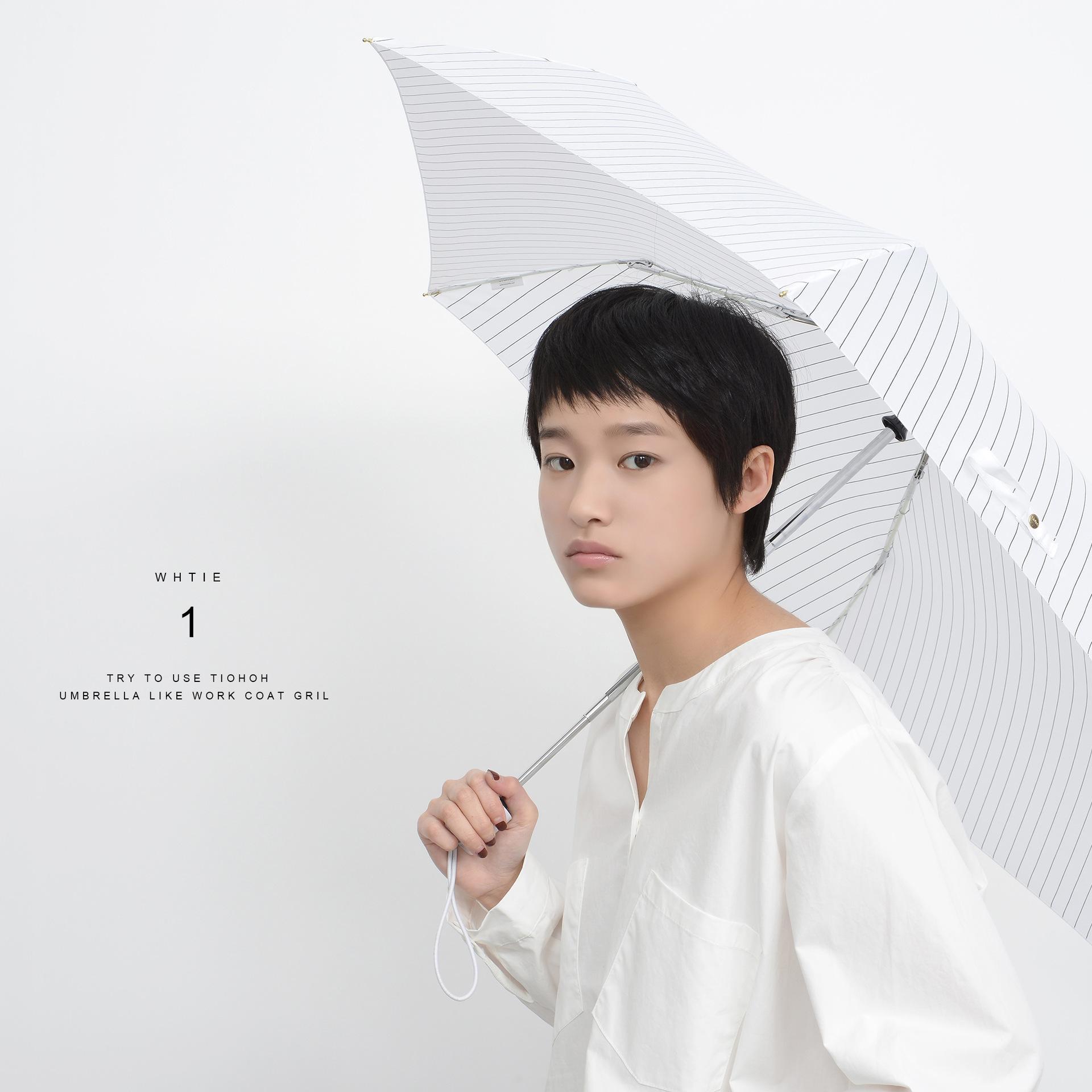 Petit parapluie pliant pluie femmes Parasol Les filles automatiques parapluie coupe-vent clair soleil Parapluies Parapluie Imperméables cadeau Sy088