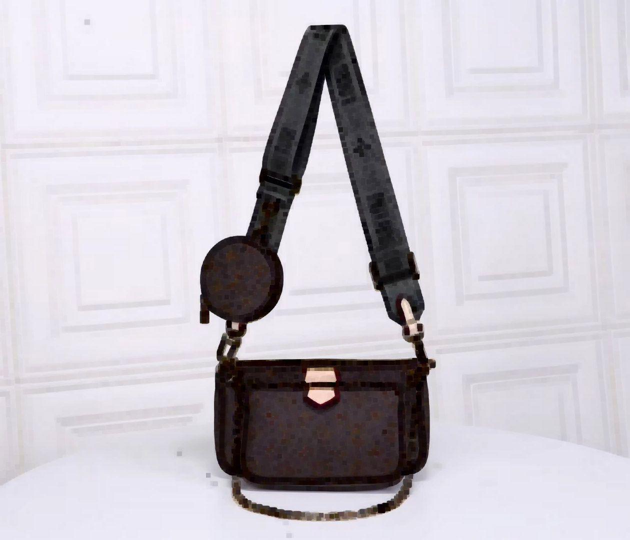 Geldbörse Münze Multi Pochette Handtasche M44813 M44823 Taschen Taschen Drei Frauen Satchel Body Accessoires Cross Pouch M44840 Brieftasche Locky BB M4 NQOQ